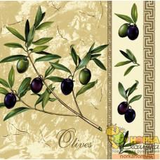 """Салфетка для декупажа """"Оливки и маслины"""""""