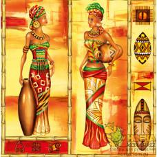 """Салфетка для декупажа """"Африканские женщины"""""""
