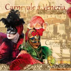 """Салфетка для декупажа """"Венецианский карнавал"""""""