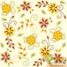 "Салфетка для декупажа ""Цветы кантри. Желтые"""