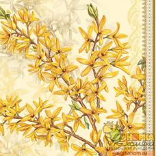 """Салфетка для декупажа """"Цветы ванили"""""""