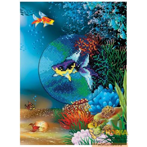 """Открытка """"Подводный мир. Морская рыбка"""""""