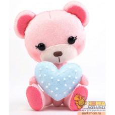 """Набор для создания куклы """"Мишка с сердечком"""""""