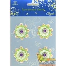 """Бумажные цветы-брадсы """"Свадьба II"""""""